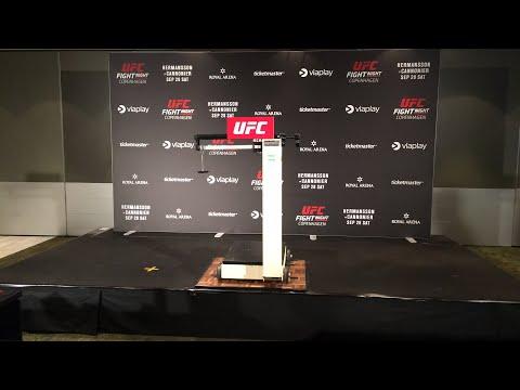 UFC Copenhagen live Early Weigh ins