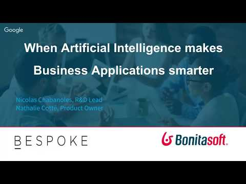 [Meetup & Live-stream] How Artificial Intelligence makes business applications smarter