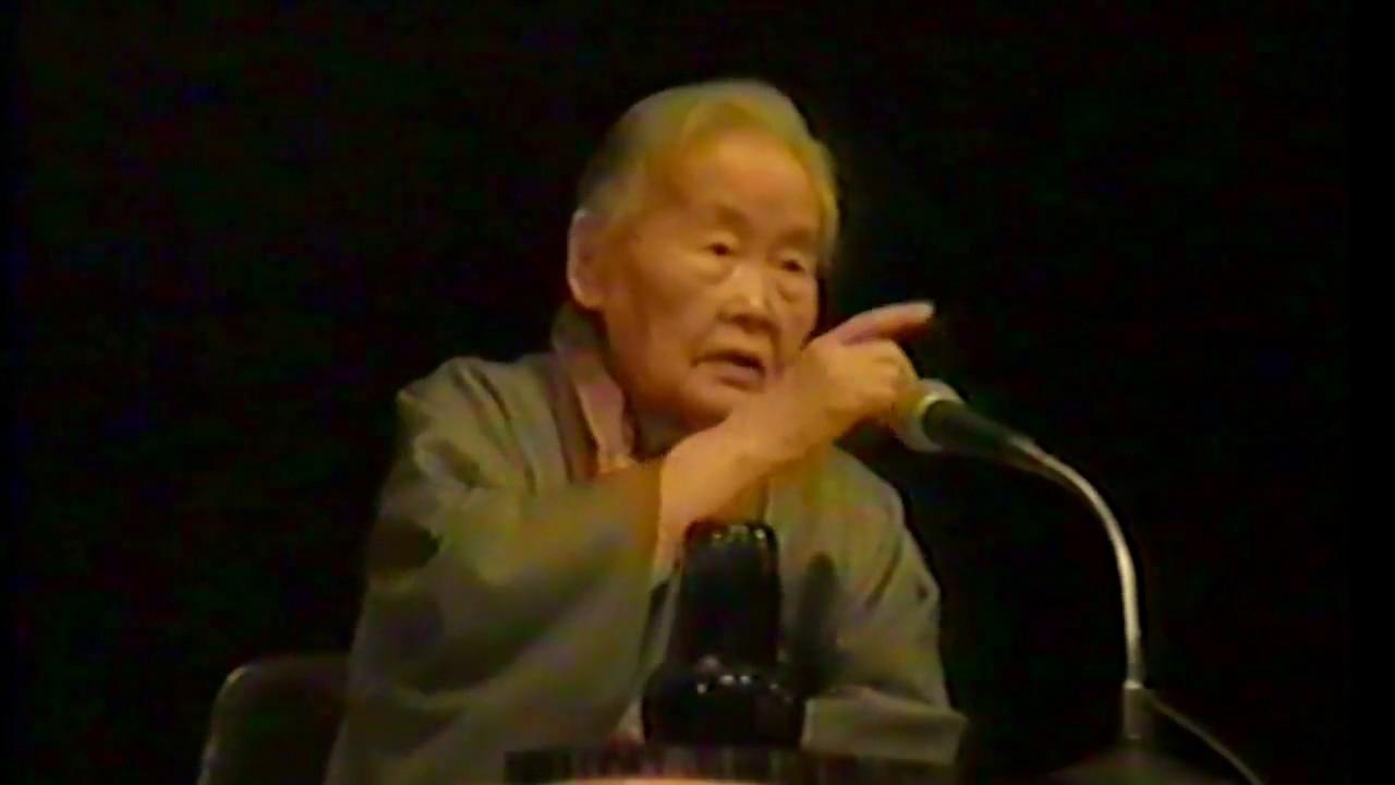 住井すゑ 91歳の人間宣言 パート4