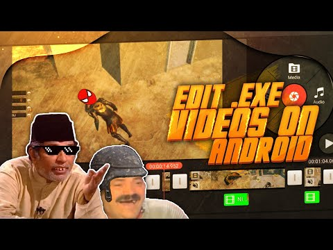 Create .exe Video On Android | Edit Funny Videos On Android | .exe.apk.jpeg.png.pdf.psd