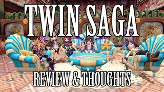 Twin Saga - Free to Play MMO Review & Thoughts (Multi-class System, Housing, Etc)