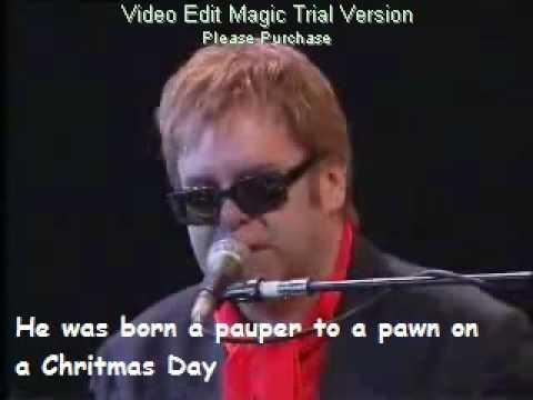 Elton John - Levon live paris with lyrics