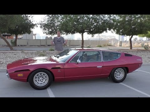 The Lamborghini Espada Is the Weirdest Lamborghini Ever Made - YouTube
