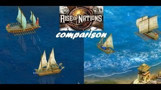 Rise of Nations vs Rise of Nations Extended Edition Graphics Comparison HD