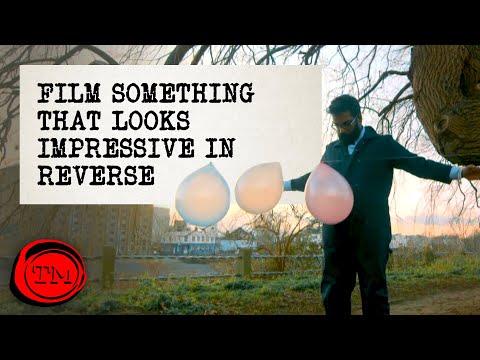Film Something That Will Look Impressive In Reverse | Full Task | Taskmaster