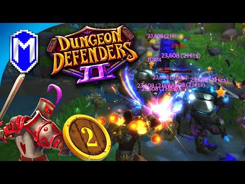 Defending Forest Crossroads Solo, Wyvern Enthusiasts - Let's Play Dungeon Defenders 2 Gameplay Ep 2