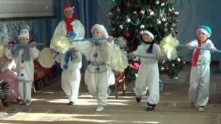 Классный танец Снеговиков на Новый Год (старшая группа)