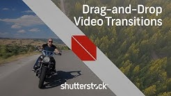 How to Use Easy Drag-and-Drop Transitions | Video Editing Tutorials