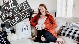 FALL HOME DECOR TOUR 2019 🍁🍂 | FARMHOUSE HOME DECOR | HOME DECOR INSPIRATION