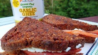 Garlic Ghee Primal Garlic Grilled Ham & Cheese