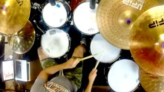 Toto - Running out of time (Drum cover)