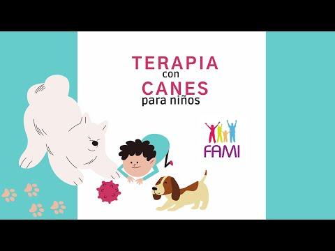 Terapia con Canes para niños