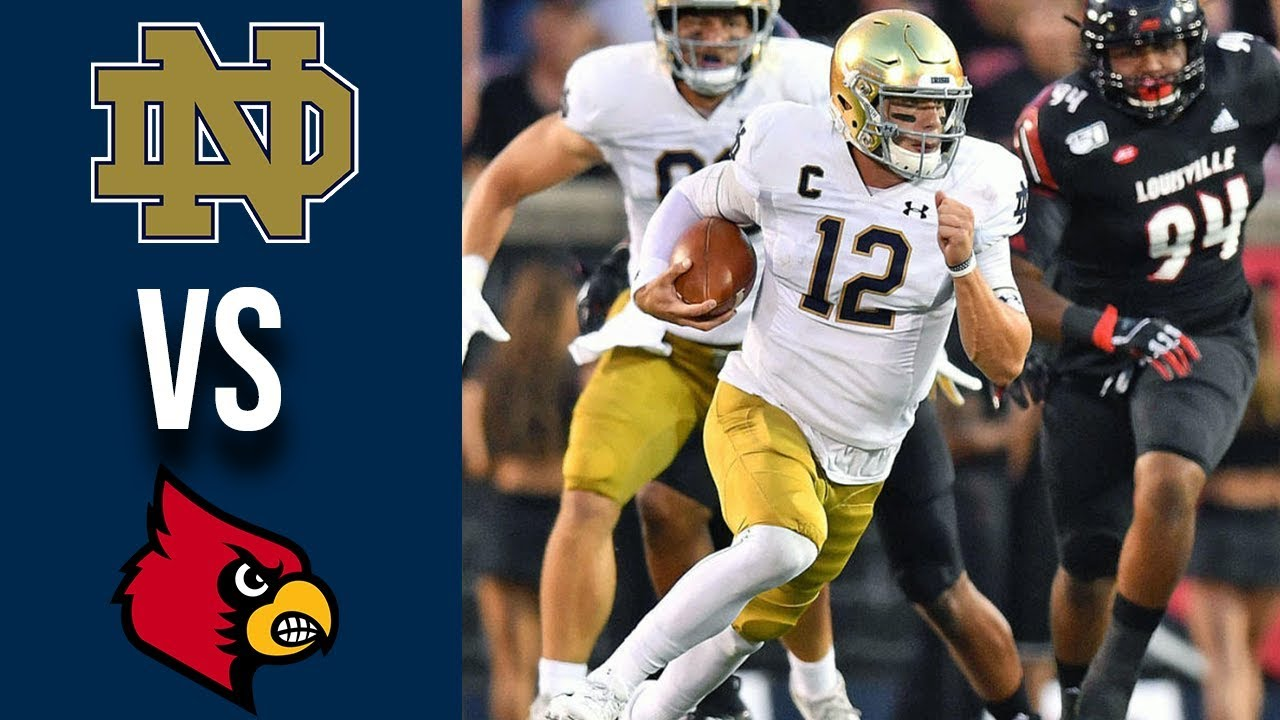 #9 Notre Dame vs Louisville Highlights Week 1 College Football 2019