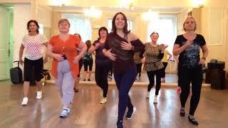 Сальса соло Танцы 40+ видео 1