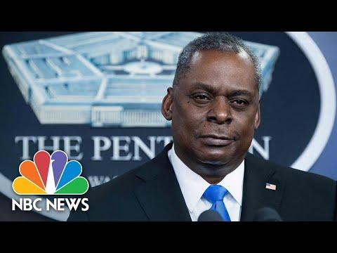 Pentagon Briefing With Defense Secretary Austin | NBC News