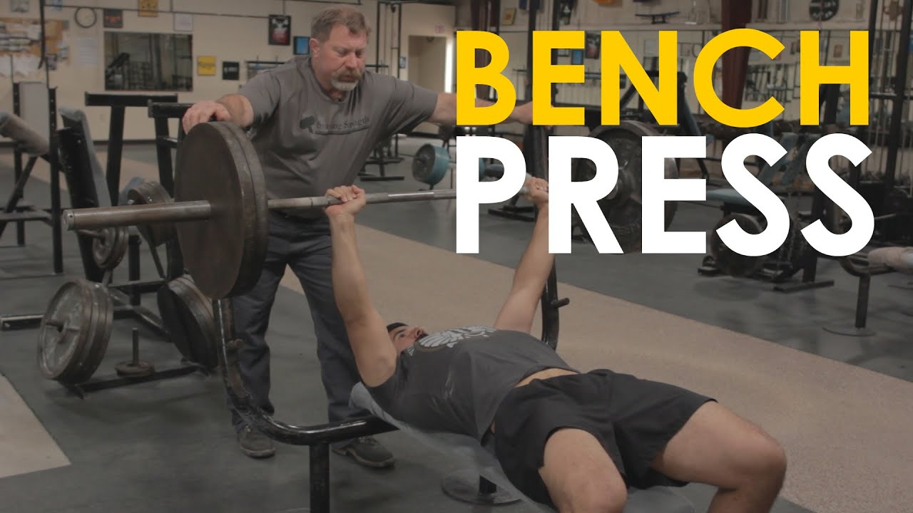 How To Bench Press With Mark Rippetoe Art Of Manliness Youtube