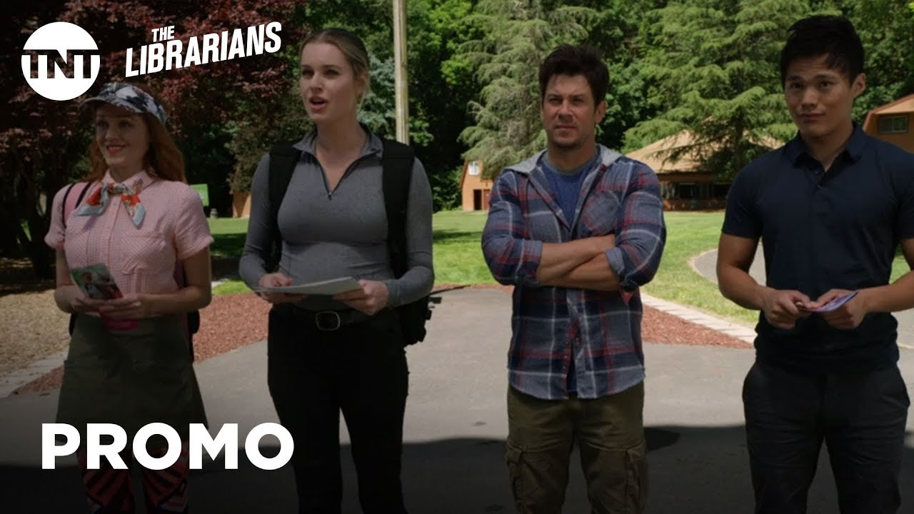Download The Librarians: And the Disenchanted Forest - Season 4, Ep. 7 [PROMO] | TNT