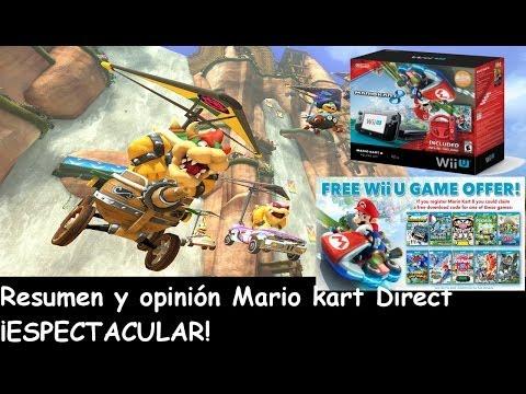 Resumen y opinión Mario Kart 8 Direct ¡ESPECTACULAR!