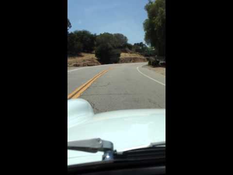 1972 MG Midget ride around Lake Manor;  Chatsworth, CA