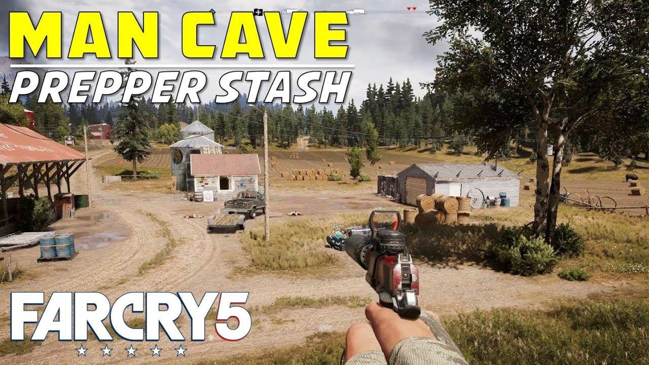 Man Cave Holland Valley : Man cave prepper stash location solution sunrise threshing