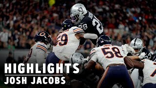 Josh Jacobs highlights: 123 yards during Week 5 win over Bears | Raiders