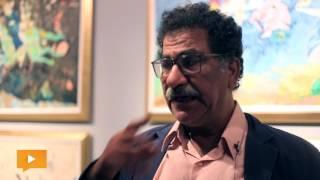 محمد عبلة يحكي «أساطير الحضارات»  في «على طريق الحرير»