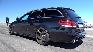 900HP Mercedes-AMG E63 Estate TTE900 -  Brutal Accelerations!