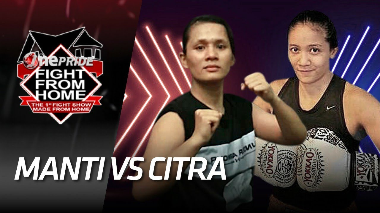 GOKIL! Duel From Home Dua Fighter Wanita,  Manti Lee Gea Melawan Inandya Citra    Fight From Home