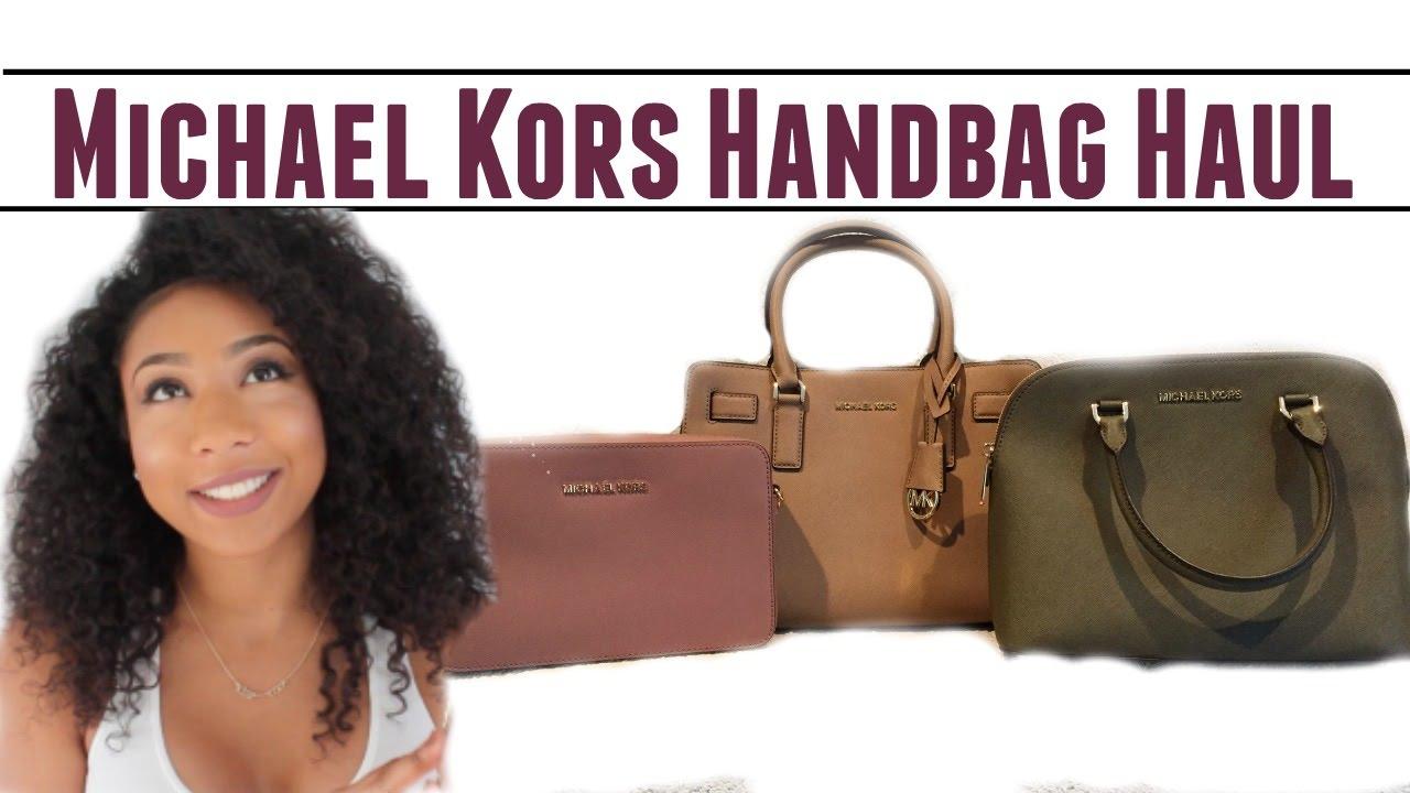 ea5e932fea5a Michael Kors Handbag Haul • SALE SALE SALE • - YouTube