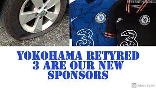 CHELSEA FOOTBALL NEWS | CHELSEA GET NEW SPONSORS | BYE YOKOHAMA HELLO 3