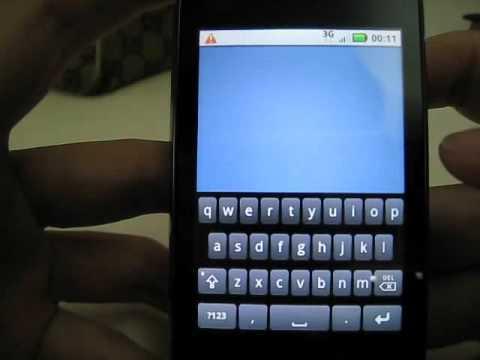Motorola DEXT with MOTOBLUR