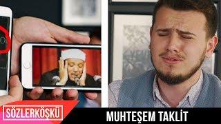 Tek Nefeste 45 Saniyelik Abdussamed Taklidi - Kamera Arkası