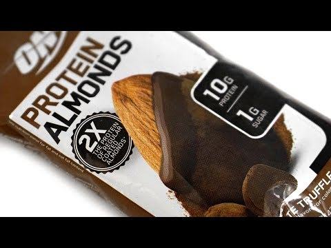 Optimum Protein Almonds Review