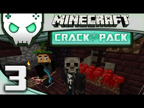 Minecraft Modded Crack Pack Ep 3: Going Rogue w/ Nebris