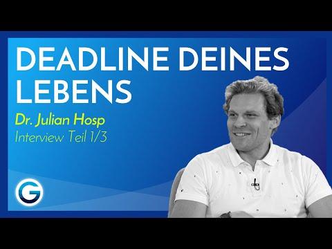 Ziele erreichen: So wirst du nie wieder etwas bereuen // Dr. Julian Hosp im Interview Teil 1/3