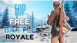 TOP 10 FREE Battle Royale Games 2020 ( NEW )