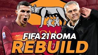 JOSÉ MOURINHO ROMA REBUILD!!!   FIFA 21 CAREER MODE REBUILD   Episode 1