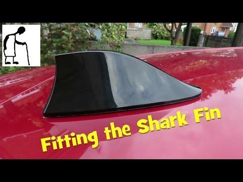 Fitting the Shark Fin