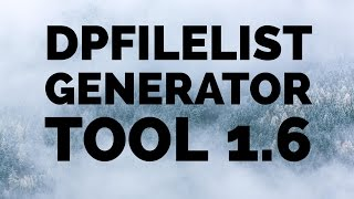 Insertar archivos Cpk | Pes2016 Pc | DpFileList Generator Tool v1.6 | Tutorial