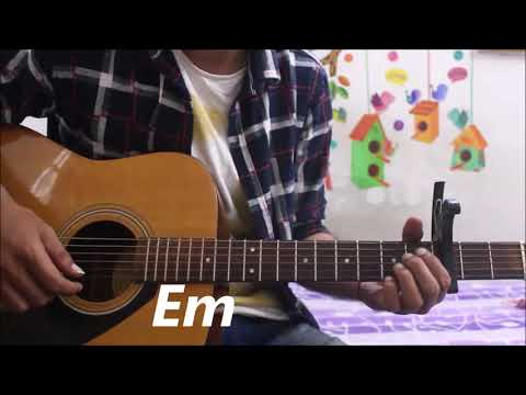 Naino Ne Baandhi Kaisi Dor Re - Gold - Guitar Cover Lesson Chords Easy Yaseer Dessai