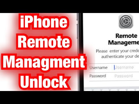 IPhone MDM Bypass Solution Without File 100% Fee.IPHONE_REMOTE_MANAGEMENT  All Model. All Version