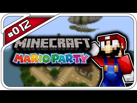 MINECRAFT MARIO PARTY #012 - DHALUCARD DER LOSER! - Deutsch German - Dhalucard