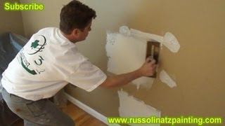 DIY Drywall Repair: How to Fix Holes and Dents in the Wall (Part 3)