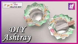 How to Make Ashtray From Can   DIY with Swati