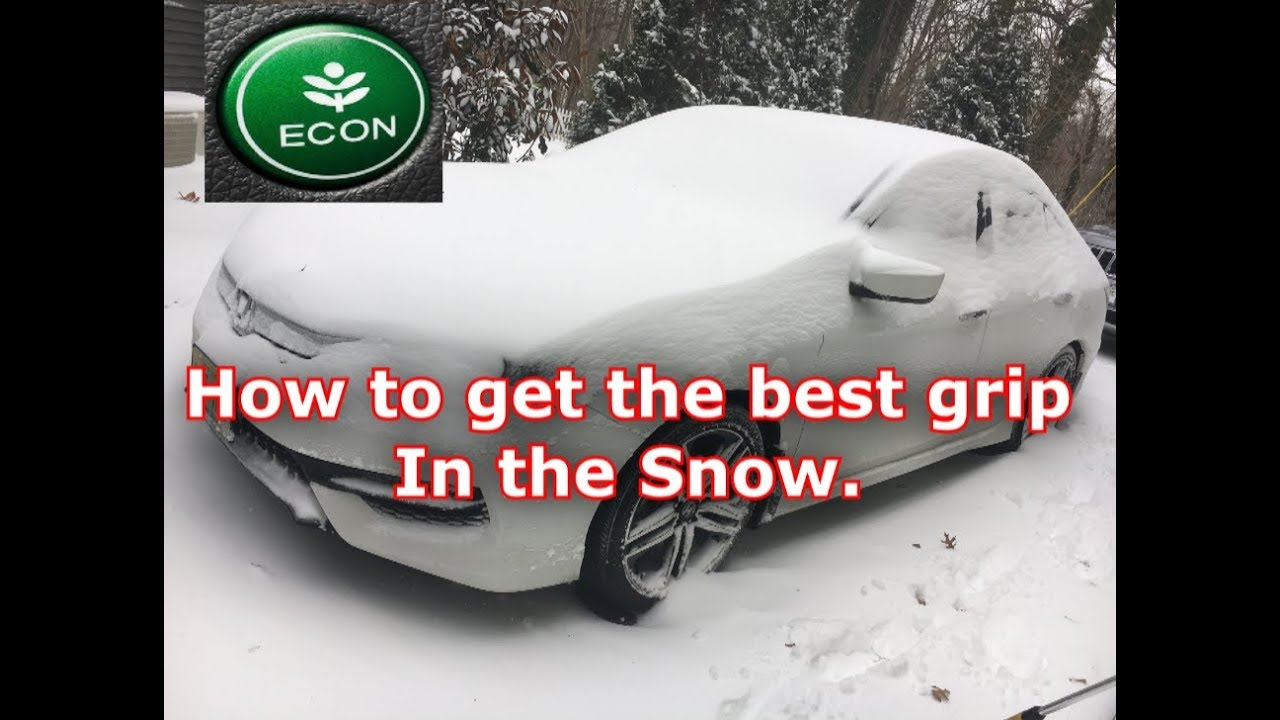 What Does Honda Econ On Do Snow Mode