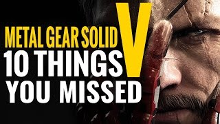 Metal Gear Solid V: The Phantom Pain Trailer Breakdown 10 Things You Missed E3 2015