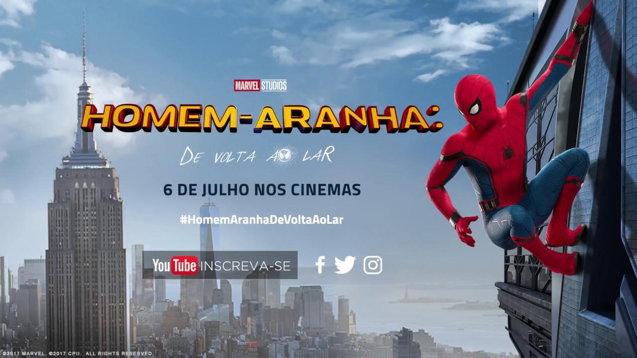 trailer homem aranha de volta ao lar cinemark youtube