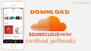 How to Download Soundcloud Music in IOS without Jailbreak | listen to free music Mp3