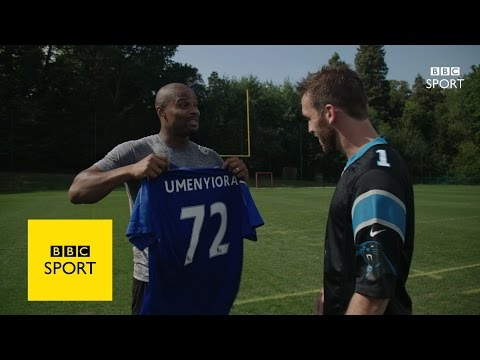 Christian Fuchs dreams of being NFL kicker - BBC Sport