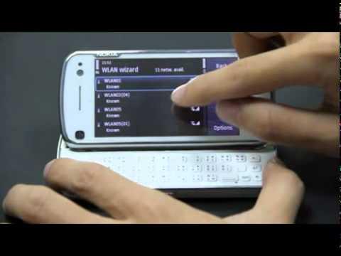 Hướng dẫn xem camera trên web Symbian N97 Web Browser